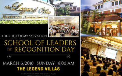 Recognition Day: School of Leaders 1