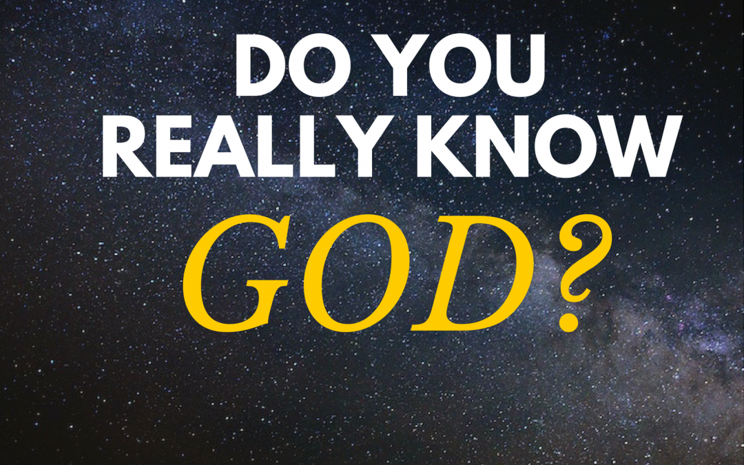 Radio: Do You Really Know God Part 5