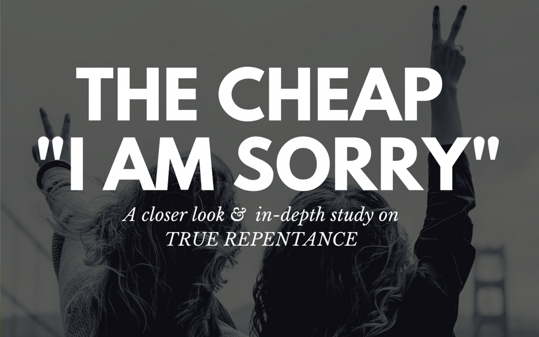 "Radio: The Cheap ""I Am Sorry"" Part 1"