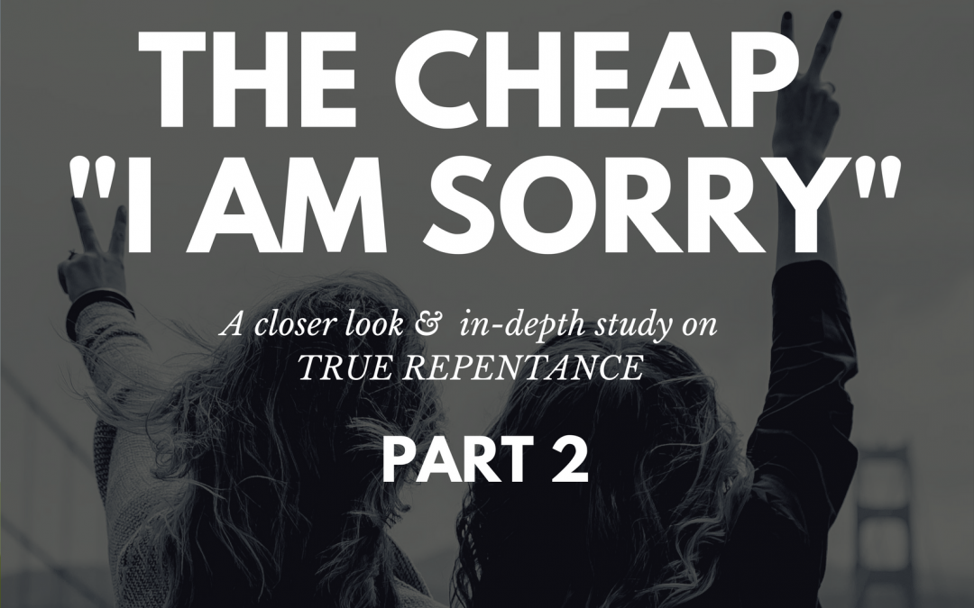 "Radio: The Cheap ""I Am Sorry"" Part 2"
