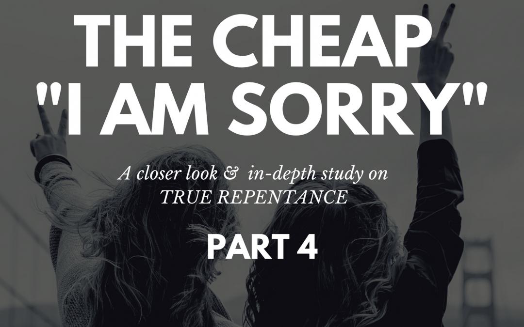 Radio: The Cheap I Am Sorry Part 4