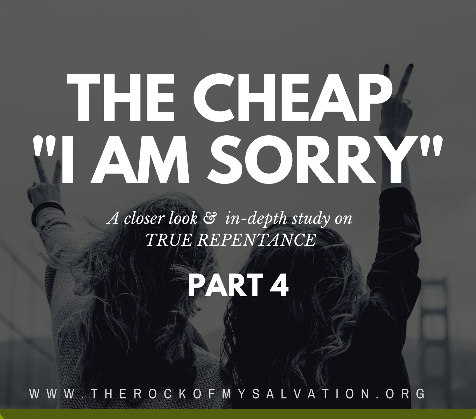 "Radio: The Cheap ""I Am Sorry"" Part 4"