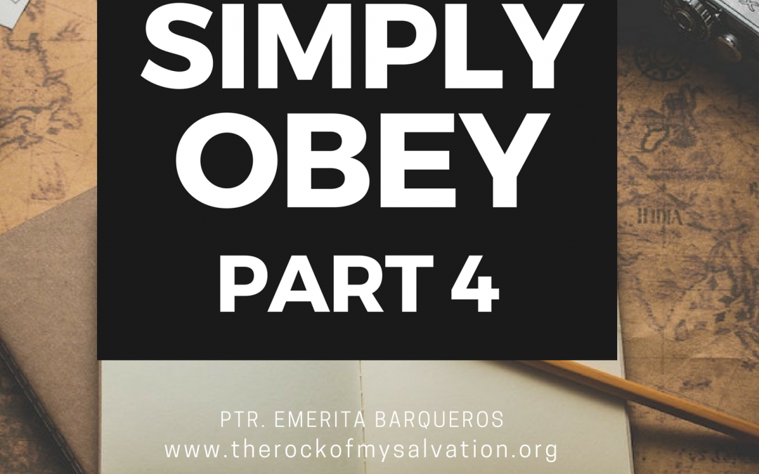 Radio: Simply Obey Part 4