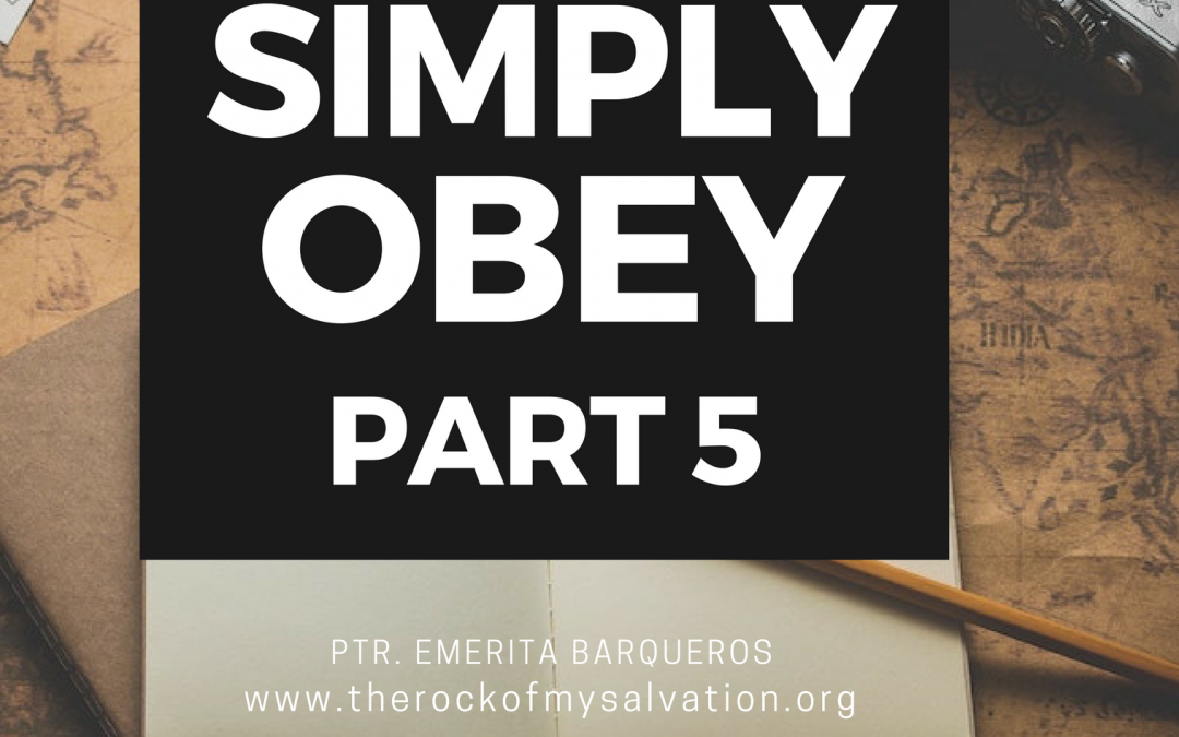 Radio: Simply Obey Part 5
