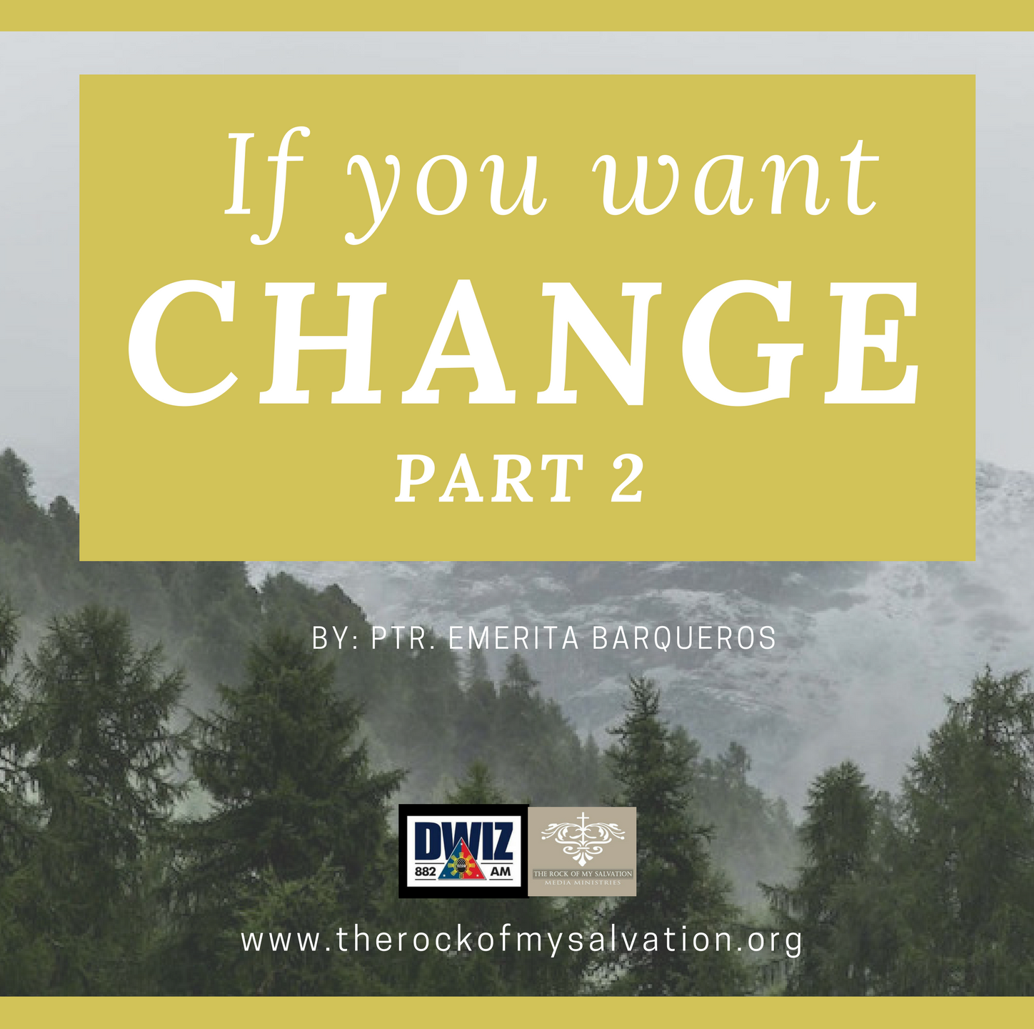 Radio: If You Want Change-Part 2