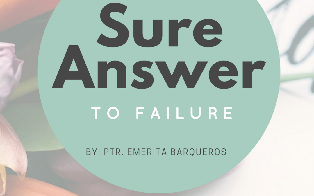 Radio: The Sure Answer to Failure