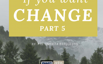 Radio: If You Want Change Part 5