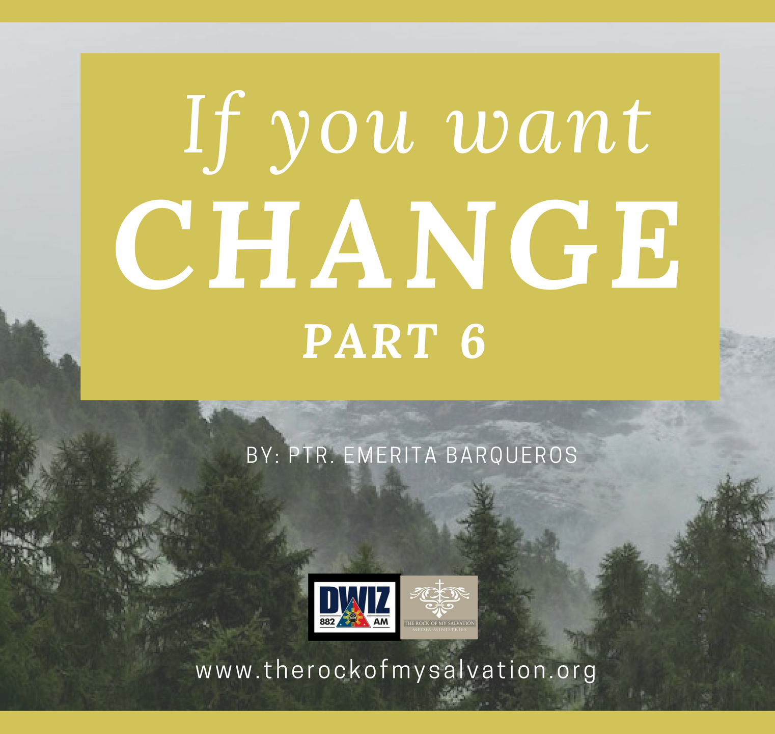 Radio: If You Want Change-Part 6