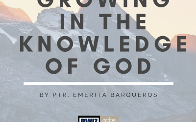Radio: Growing in the Knowledge of God
