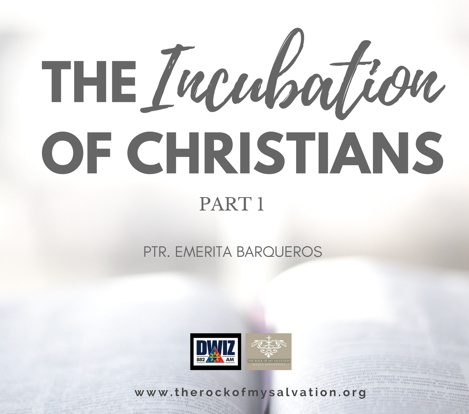Radio: The Incubation of Christians Part 1
