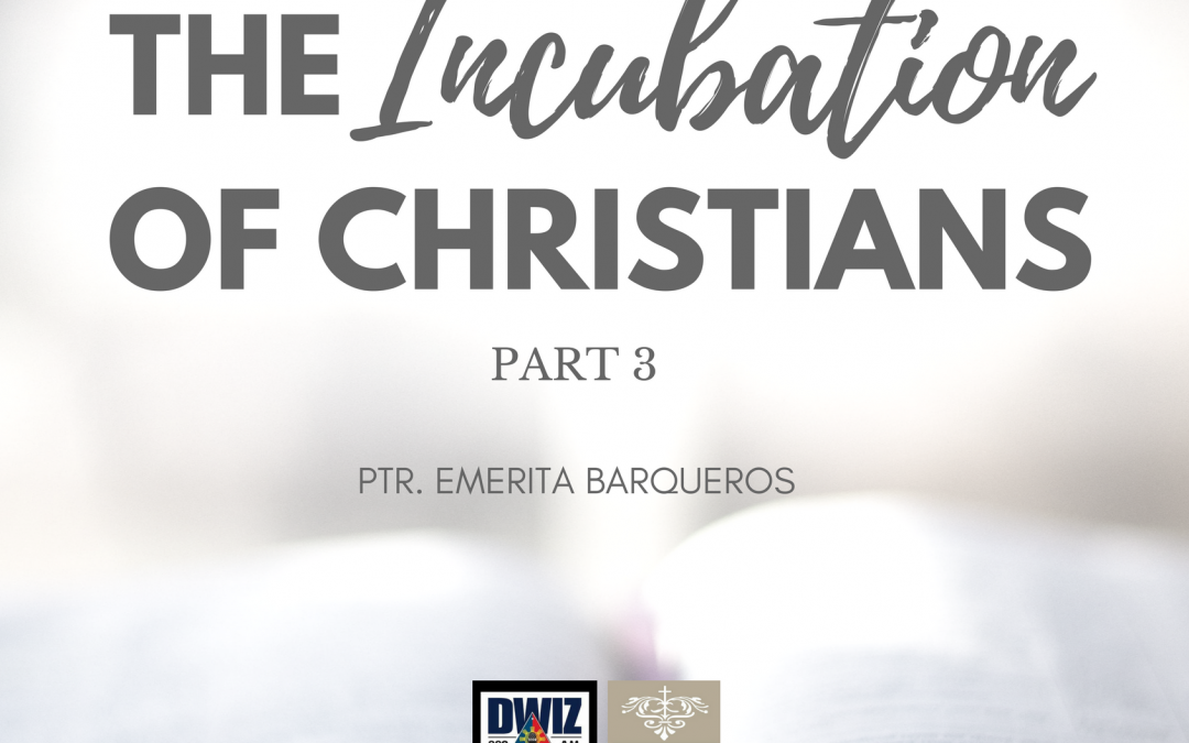 Radio: The Incubation of Christians 3