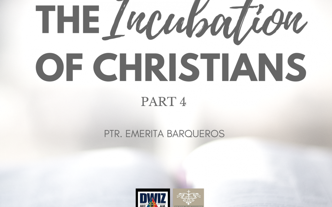 Radio: The Incubation of Christians 4