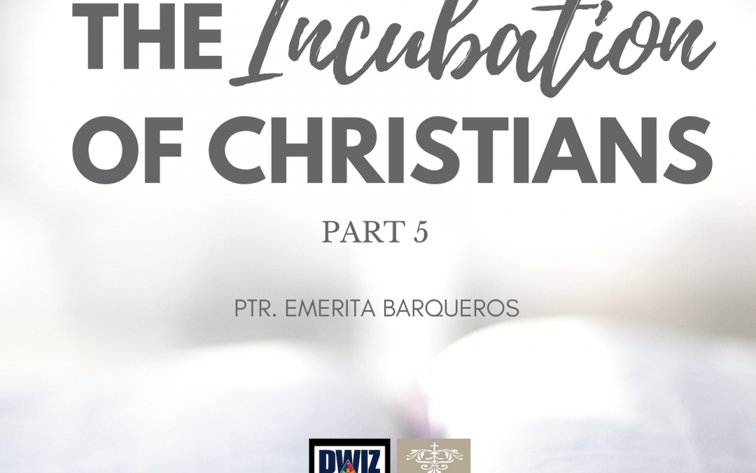 Radio: The Incubation of Christians 5