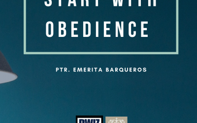 Radio: Start with Obedience