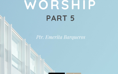 Radio: Major In Worship Part 5