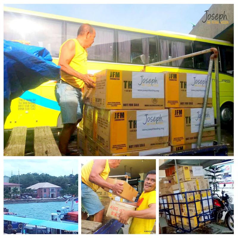 Mayon Relief Operation: Comun, Camalig, Albay