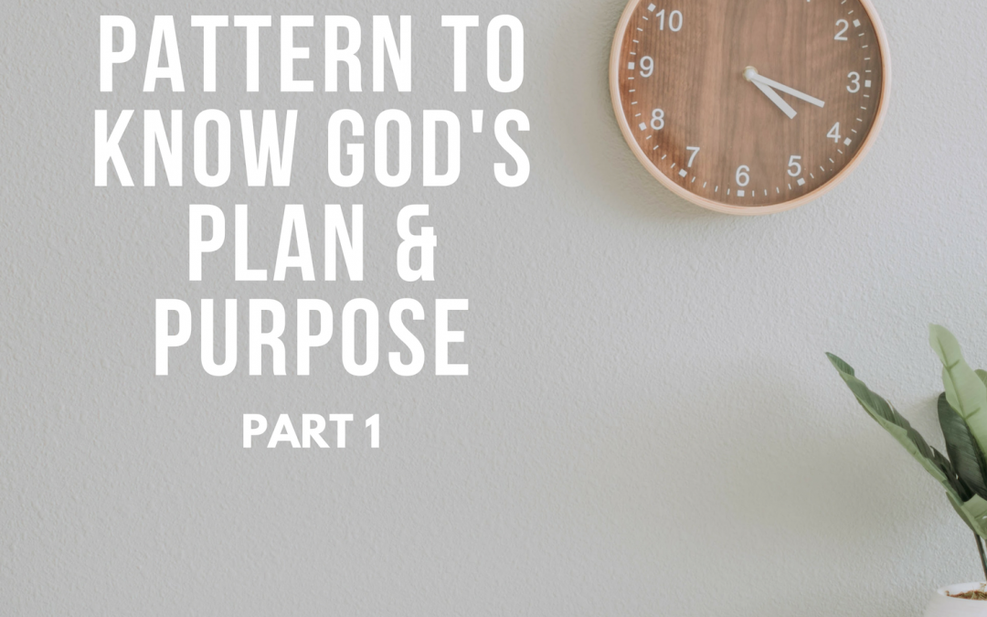 Radio: The Pattern to Know God's Plan and Purpose 1