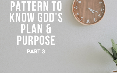 Radio: The Pattern to Know God's Plan and Purpose 3
