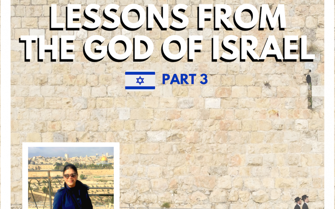 Radio: Pt 3-Lessons From The God of Israel